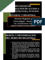 Diplomado Actualizacion Acceso Magistratura Funcion-notarial Registral