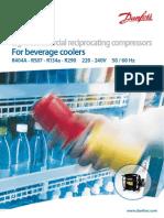 Compresores Danfoss Para Enfriadores de Bebidas