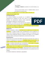 Filosofía de José Ortega y Gasset