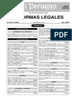 Flete Ds 033-2006-Mtc Modificacion Ds 010-2006-Mtc