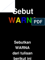 Games Sebut Warna