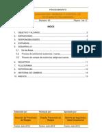 PGR-015 Procedimiento de Adquisición, Ingreso y Control de Sustancias Peligrosas