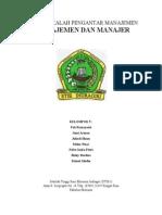 Makalah - Manajemen Dan Manajer (by.yettifitriyanti)