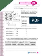 Multiplos, Divisores y Factores Primos. 6to