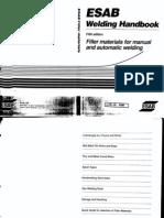 Esab Welding Consumables Handbook Pdf