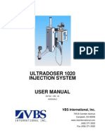 Ultra Doser 1020 User Manual
