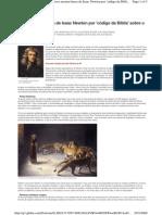 Livro mostra busca de Isaac Newton por 'código da Bíblia' sobre o fim do mundo