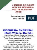 Ecologia I 2da Smna