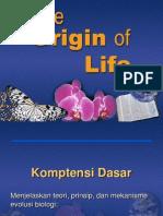 Teori Asal Usul Kehidupan