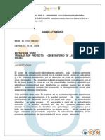 Formato Guia de Actividades y Rubrica Observatorio