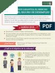 19-03-14 Reforma que garantiza el derecho a recibir el Seguro de desempleo