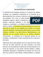 LA CULTURA ESTÉTICA EN LA EDUCACIÓN.docx