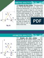 Geometría Analítica. C-2. Ing° Caleb Ríos