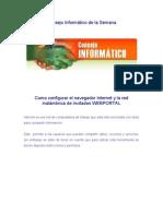 Configuracion de Internet Para WEBPORTAL