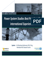 Dr.dharshana-Power System Studies Best Practices & International Experiences