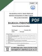 Paket 30 Soal Tkm Bindo Kls Xii Des 13(3)