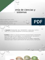 Taxonomía de ciencias y sistemas