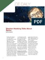 stephen hawking news article