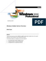 Windows Installer Service Overview
