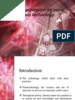 Power Generation by Using Nano Technology