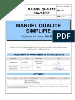 Manuel Qualite