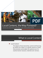 Local Content_the Way Forward_ZKhan
