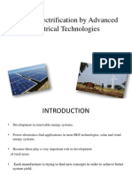Village Electrification by Advanced Electrical Technologies