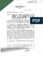DOJ Department Circular No. 21 (July 15, 1992)
