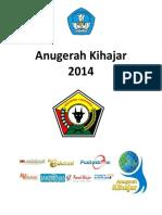 Anugerah Kihajar 2014 Untuk Blogger