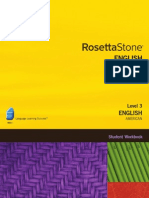 English (American) Level 3 - Student Workbook
