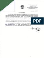 UGC_DraftRegulationsonTechnicalEducation 2013