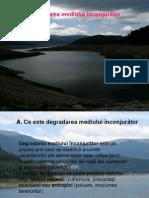 3.Degradarea mediului inconjurator