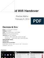 Wifi Handover Presentation Project