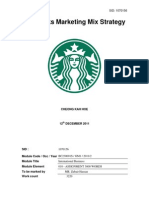 Starbucks Marketing Mix Strategy