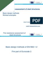 Fire resistance of steel