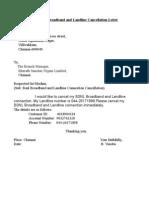 Bsnl Complaint Letter