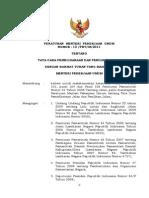 PermenPU13-2011 Tata Cara Pemel Jalan Dan Penilik