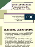 Preparacion y Evaluacion de Proyectos de Inv
