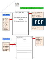 how to make a research paper style
