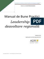 Manual Leadership in Dezvoltare Regionala
