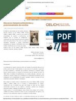 Discursos Femeninos_feministas y Posicionamiento de Revistas