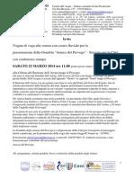 AdP Conferenza stampa - Presentazione Gondola Amissi del Piovego - Servizio per la Città