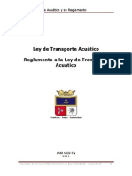 LEY DE TRANSPORTE ACUÁTICO