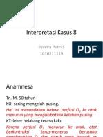 Interpretasi Kasus 8