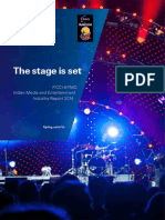 KPMG FICCI Frames the Stage is Set M&E Report 2014