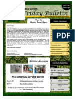 Parent Bulletin Issue 28 SY1314
