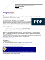 ProgressNow Colorado Email Opposing Denver Initiated Ordinance 300