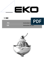 Manual de Utilizare BEKO Bkex386