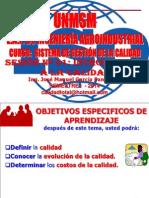 SISTEMA DE GESTION DE LA CALIDAD 01 - INTRODUCCION A LA CALIDAD
