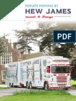 Matthew James Removals & Storage UK & Spain